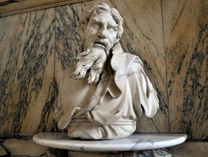 Heraclitus tear bust