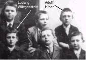 hitler-and-wittgenstein class photo closeup