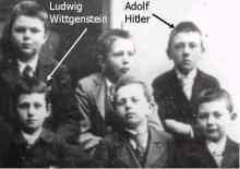 hitler-and-wittgenstein class photo closeup