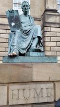Hume Satue Edinburgh