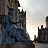 hume-statue-edinburgh-cone-on-head-cut