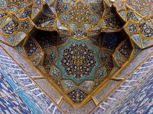 islamic tile ceiling
