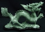 jade dragon sculpture