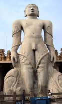 Jain statue vines karnataka