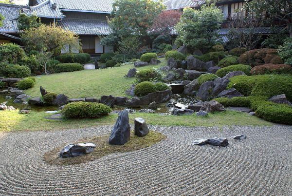 japanese rock garden zen