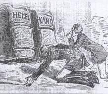 Kant Hegel comic
