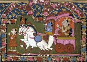 Krishna Arjuna Chariot