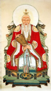 laozi seated daoism