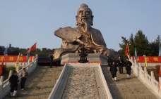 laozi statue shrine