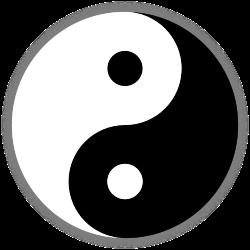 large yin yang