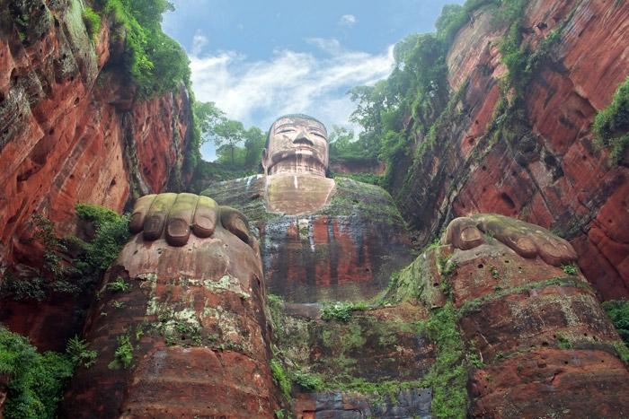 Leshan Giant Buddha China