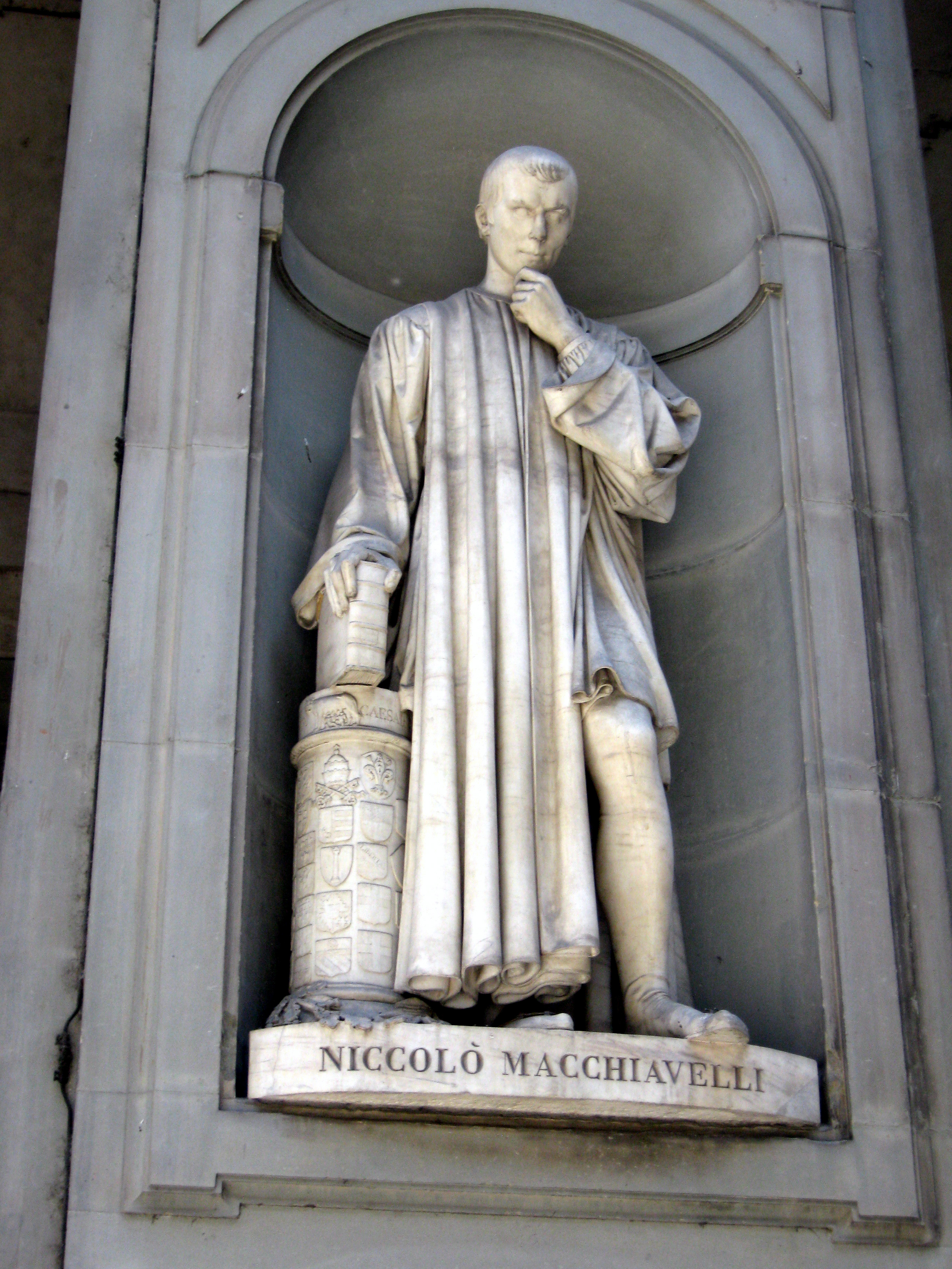 """the philosophical view of niccolo machiavelli on the human nature Machiavelli's morals  this view of human nature informs machiavelli's entire political  """"ethics and politics in machiavelli,"""" philosophical quarterly."""
