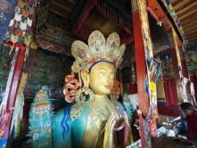 maitreya buddha thiksey monastery