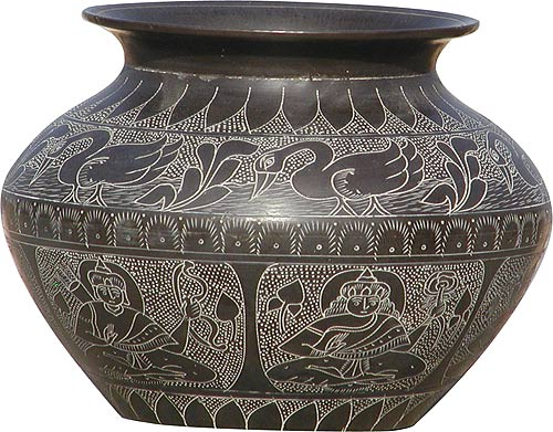 Metal Indian Pot