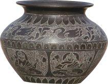 Metal Indian Pot