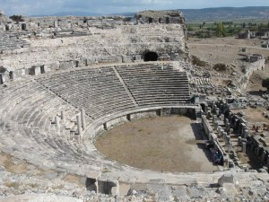 miletus theater ruins