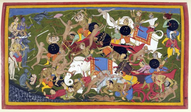 Monkey Battle Ramayana