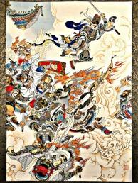 monkey king battle china