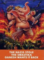 Nazis stole swastika ganesh wants it back