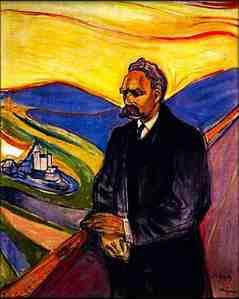 Nietzsche painting munch