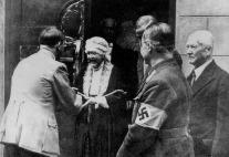 Nietzsche's Sister Greets Hitler