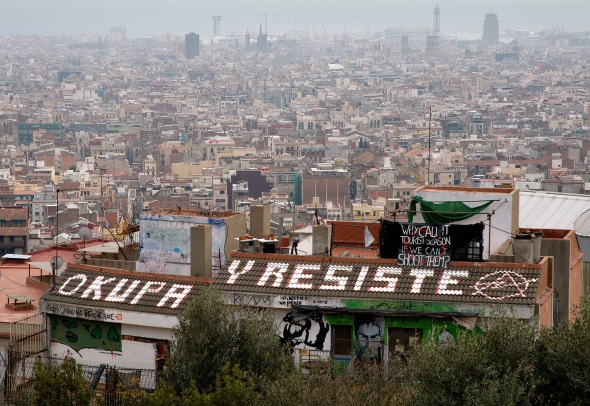 ojupas squat barcelona