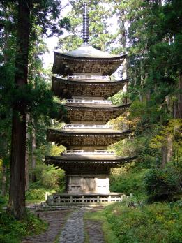Pagoda at Mt. Haguro