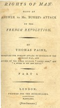 Paine Rights of Man Burke