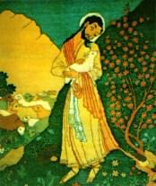 persian carpet Jesus