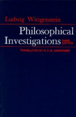 philosophical investigations Wittgenstein