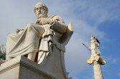 Plato Athens Statue