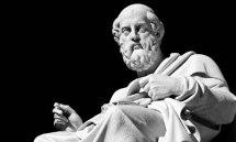 Plato Marble Statue