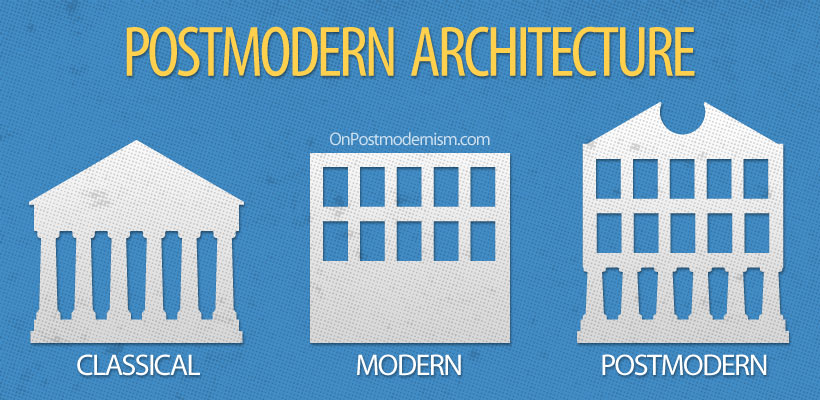 Contemporary Modern Architecture Vs Postmodern Project And Design