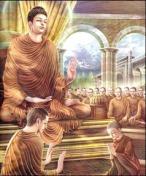 Prajapati with Buddha