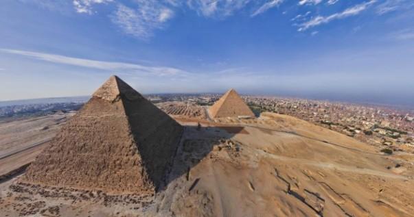 pyramid shadow