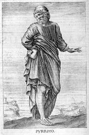Pyrrho Woodcut
