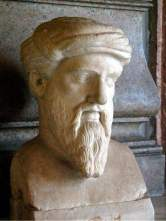 Pythagoras Bust