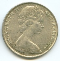 Queen Elizabeth of Britain on Australian Coin