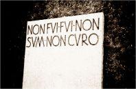 Roman Epicurean Gravestone