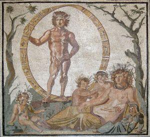 Roman Uranos and Terra