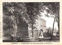 Rousseau monument geneva