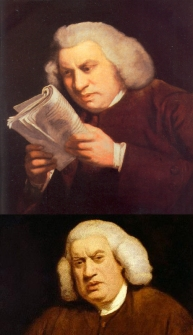 Samuel Johnson can't believe what just