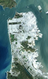 San Franciscofrom space