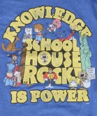 schoolhouse-rock-knowledge-is-power-t-shirt-logo