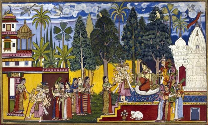 Sita at ashokavana