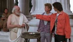 Socrates meets Bill and Ted