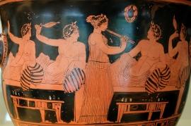 Symposium Greek Pottery