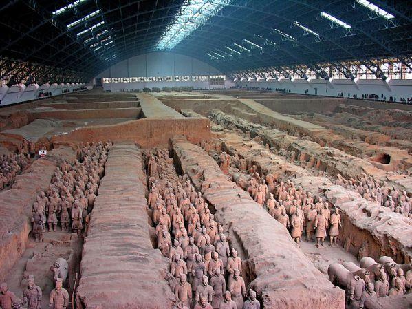 terra cotta warriors of china