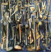 The Jungle Wifredo Lam 1943
