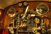 train cabin brass